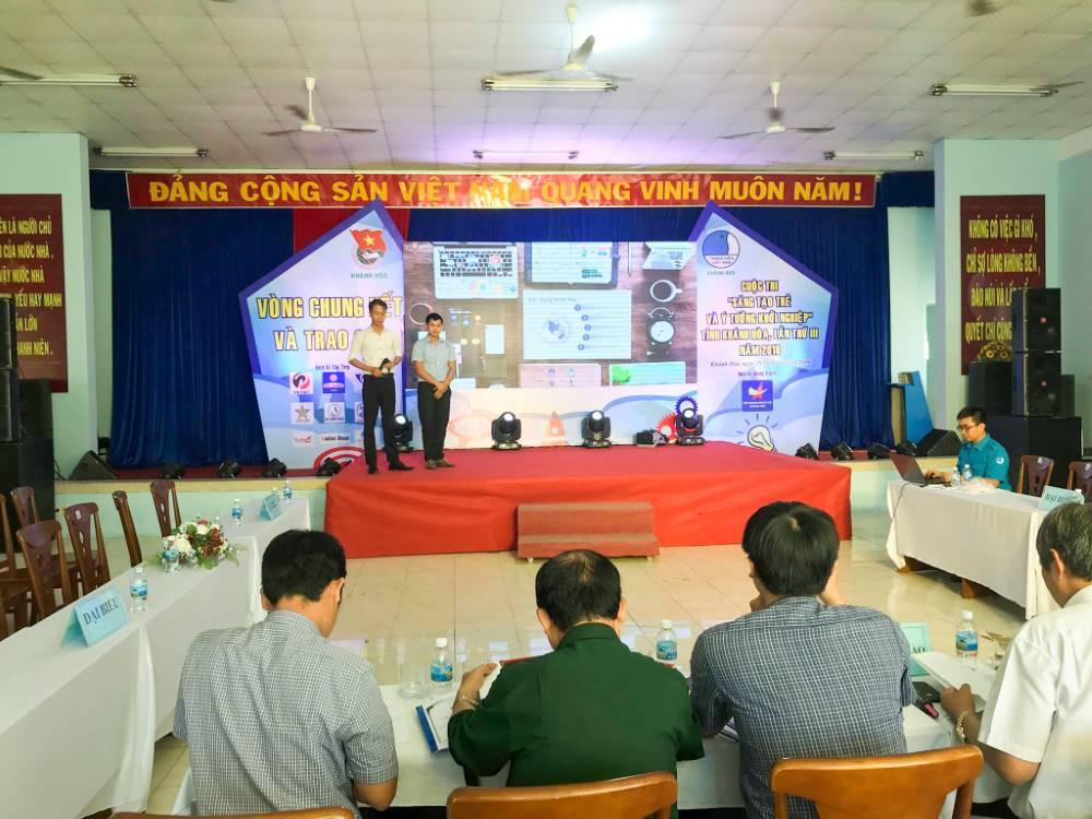"""Tổng kết, trao giải cuộc thi """"Sáng tạo trẻ và ý tưởng khởi nghiệp"""" trong đoàn viên thanh niên tỉnh Khánh Hòa lần thứ III - năm 2018 5"""