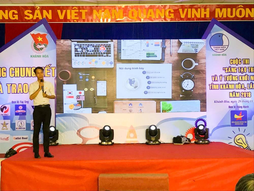 """Tổng kết, trao giải cuộc thi """"Sáng tạo trẻ và ý tưởng khởi nghiệp"""" trong đoàn viên thanh niên tỉnh Khánh Hòa lần thứ III - năm 2018 19"""
