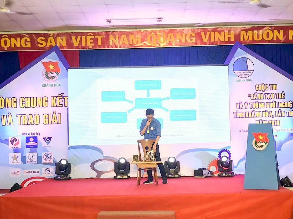 """Tổng kết, trao giải cuộc thi """"Sáng tạo trẻ và ý tưởng khởi nghiệp"""" trong đoàn viên thanh niên tỉnh Khánh Hòa lần thứ III - năm 2018 18"""