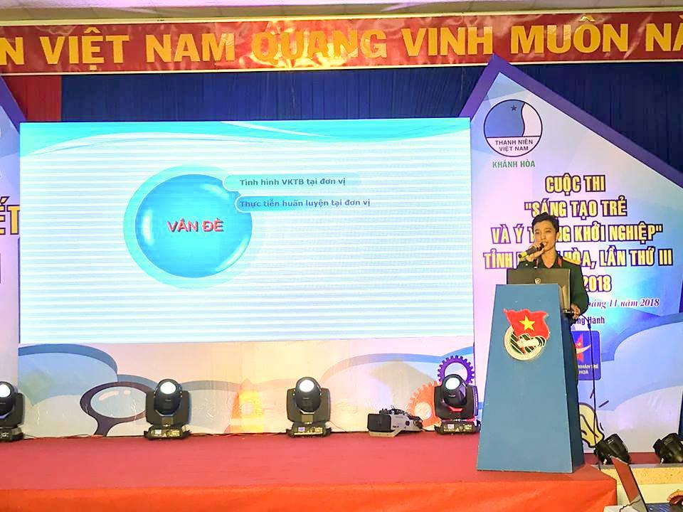 """Tổng kết, trao giải cuộc thi """"Sáng tạo trẻ và ý tưởng khởi nghiệp"""" trong đoàn viên thanh niên tỉnh Khánh Hòa lần thứ III - năm 2018 16"""