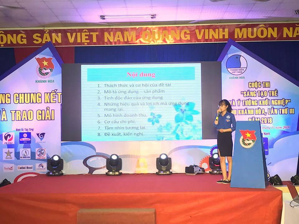 """Tổng kết, trao giải cuộc thi """"Sáng tạo trẻ và ý tưởng khởi nghiệp"""" trong đoàn viên thanh niên tỉnh Khánh Hòa lần thứ III - năm 2018 14"""