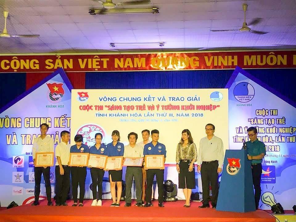 """Tổng kết, trao giải cuộc thi """"Sáng tạo trẻ và ý tưởng khởi nghiệp"""" trong đoàn viên thanh niên tỉnh Khánh Hòa lần thứ III - năm 2018 25"""