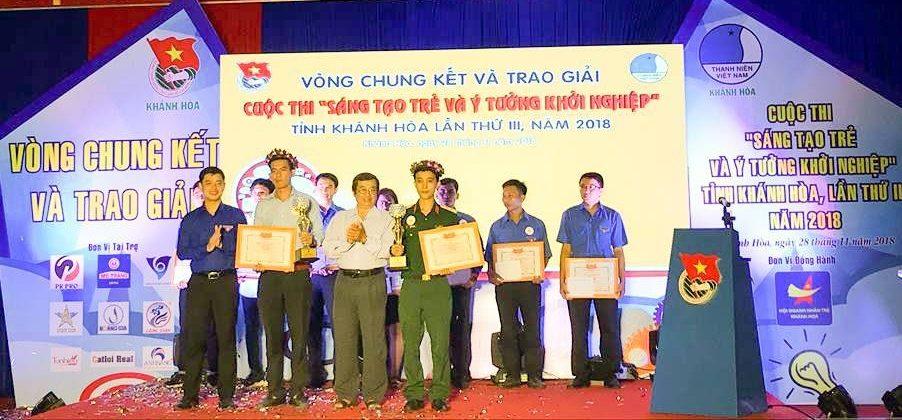 """Tổng kết, trao giải cuộc thi """"Sáng tạo trẻ và ý tưởng khởi nghiệp"""" trong đoàn viên thanh niên tỉnh Khánh Hòa lần thứ III - năm 2018 22"""