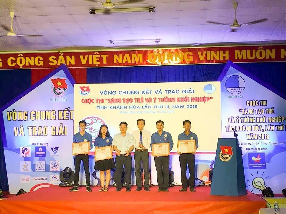 """Tổng kết, trao giải cuộc thi """"Sáng tạo trẻ và ý tưởng khởi nghiệp"""" trong đoàn viên thanh niên tỉnh Khánh Hòa lần thứ III - năm 2018 24"""