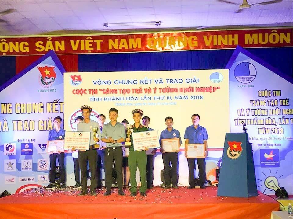 """Tổng kết, trao giải cuộc thi """"Sáng tạo trẻ và ý tưởng khởi nghiệp"""" trong đoàn viên thanh niên tỉnh Khánh Hòa lần thứ III - năm 2018 27"""
