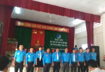 Ủy ban Hội LHTN Việt Nam xã Diên Điền khóa VIII, nhiệm kỳ 2019 – 2024 ra mắt trước Đại hội