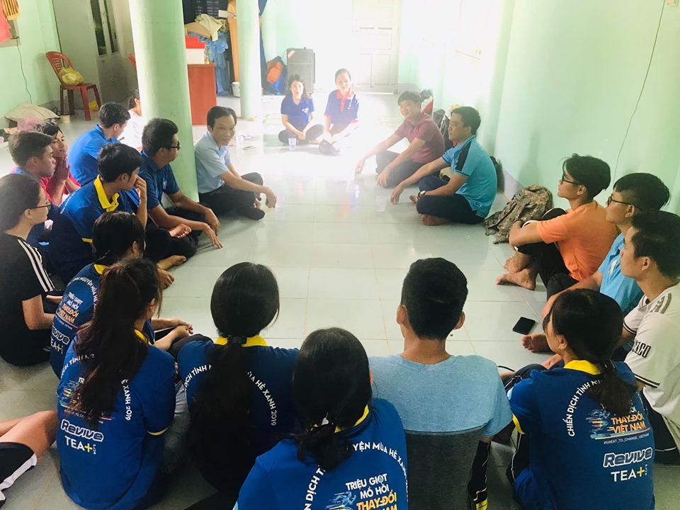 Rạng rỡ Đêm hội quân các Chiến dịch Thanh niên tình nguyện hè năm 2019 6