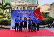 Đoàn Khối các cơ quan tỉnh giao cờ nhiệm vụ cho các đơn vị