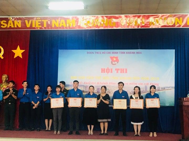 """Hội thi """"Báo cáo viên giỏi"""" tỉnh Khánh Hòa năm 2019 4"""