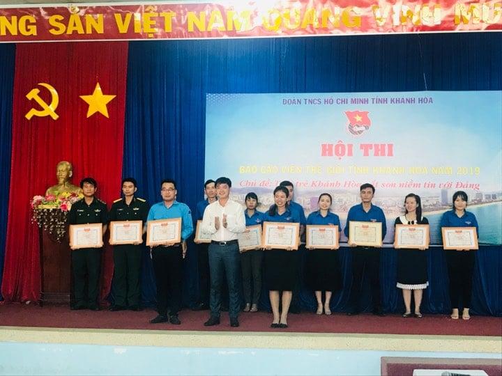"""Hội thi """"Báo cáo viên giỏi"""" tỉnh Khánh Hòa năm 2019 3"""