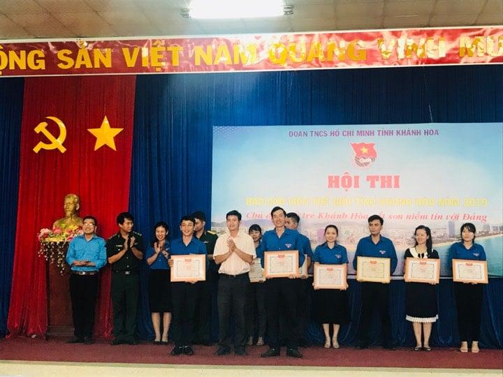 """Hội thi """"Báo cáo viên giỏi"""" tỉnh Khánh Hòa năm 2019 2"""
