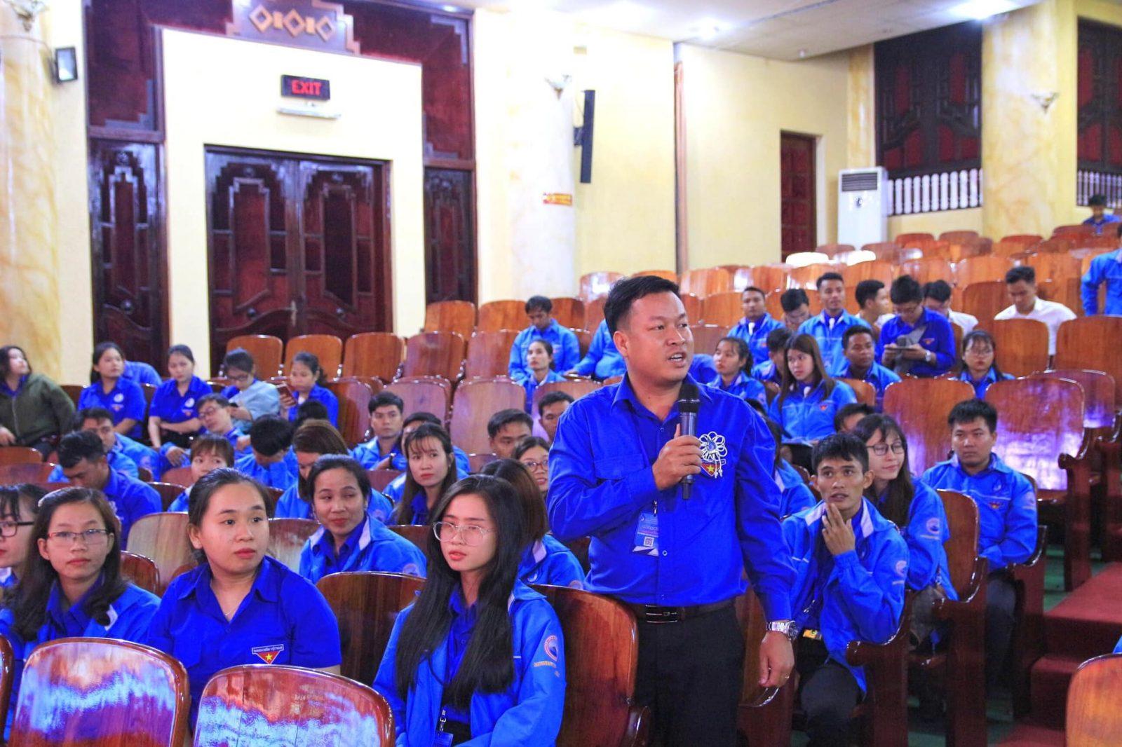Đại hội đại biểu Hội Liên hiệp Thanh niên Việt Nam tỉnh lần thứ VIII: Phiên làm việc thứ hai 2