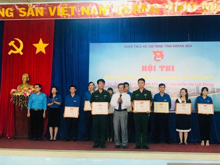 """Hội thi """"Báo cáo viên giỏi"""" tỉnh Khánh Hòa năm 2019 1"""