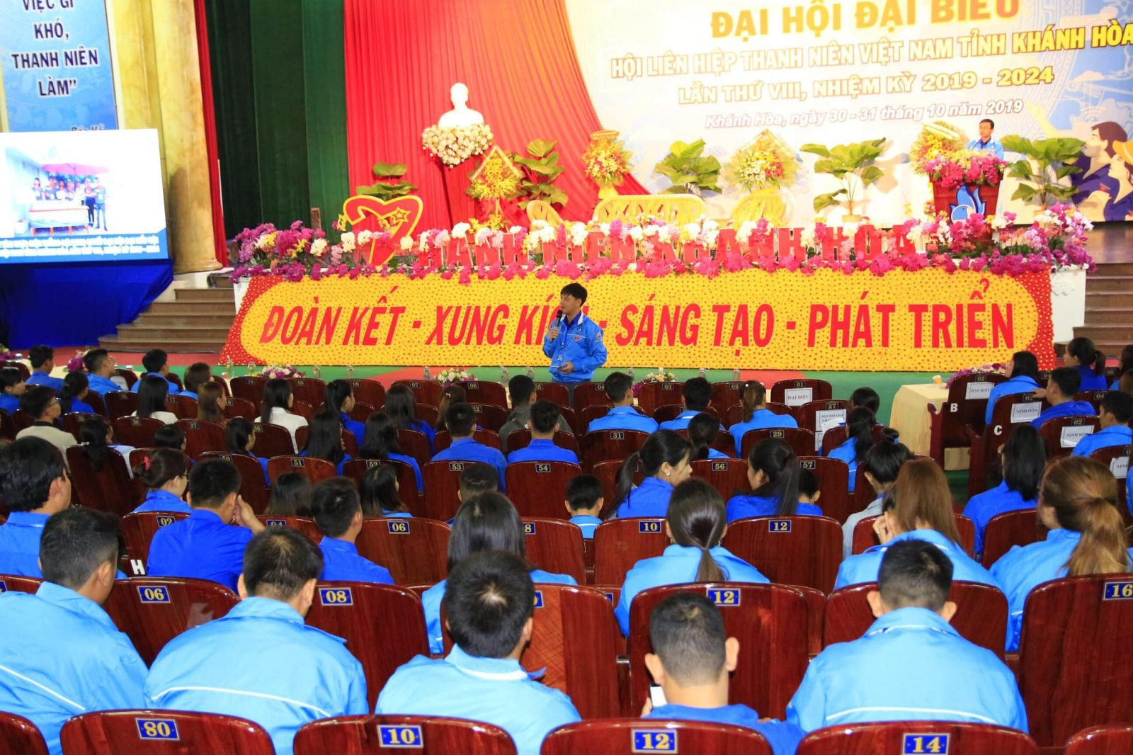 Đại hội đại biểu Hội Liên hiệp Thanh niên Việt Nam tỉnh lần thứ VIII: Phiên làm việc thứ hai 1