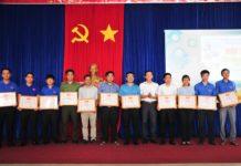 Tỉnh đoàn khen thưởng các tập thể có thành tích trong công tác hè năm 2019