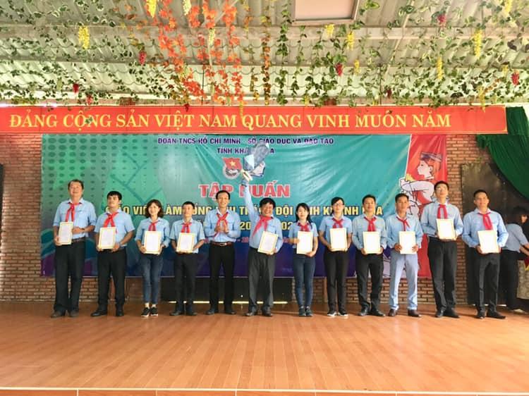 Khai mạc lớp Tập huấn Giáo viên làm Tổng phụ trách Đội tỉnh Khánh Hoà năm học 2019-2020 1