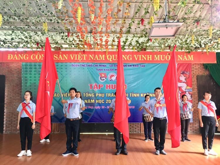 Khai mạc lớp Tập huấn Giáo viên làm Tổng phụ trách Đội tỉnh Khánh Hoà năm học 2019-2020 2
