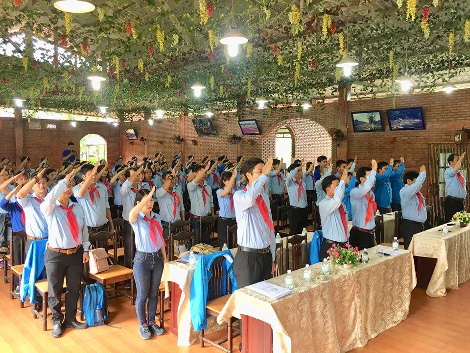 Khai mạc lớp Tập huấn Giáo viên làm Tổng phụ trách Đội tỉnh Khánh Hoà năm học 2019-2020 3
