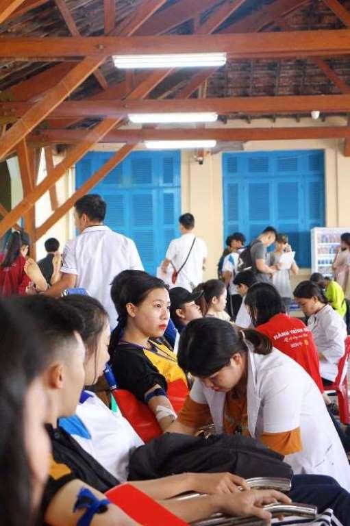 Ngày hội Hiến máu nhân đạo trường Đại học Nha trang 3