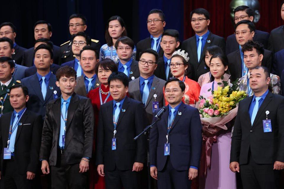 Anh Nguyễn Anh Tuấn - Bí thư thường trực Trung ương Đoàn, Chủ tịch Trung ương Hội Liên hiệp Thanh niên Việt Nam khóa VIII phát biểu nhận nhiệm vụ mới