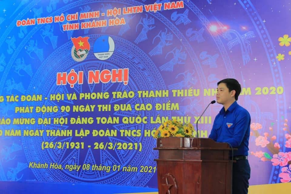 Đ.c Bùi Hoài Nam, Ủy viên Ban Thường vụ Trung ương Đoàn, Tỉnh ủy viên, Bí thư Tỉnh đoàn chủ  trì Hội nghị